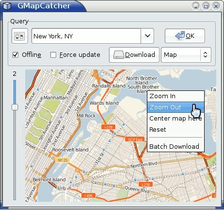 Mappe GMapCatcher